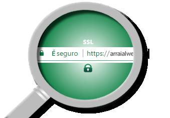 SSL protegido - Arraial Web design é seguro
