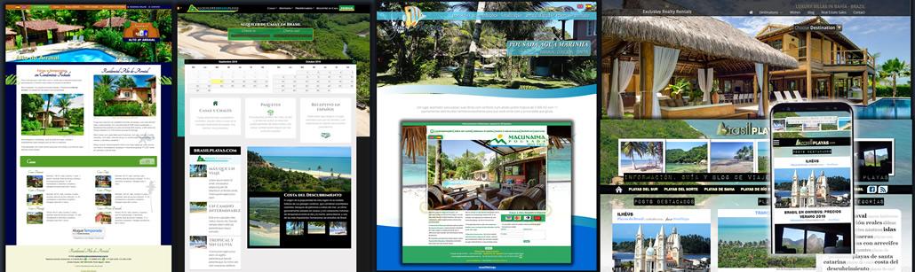 sites wordpress, google, mobile, html5, php e mysql